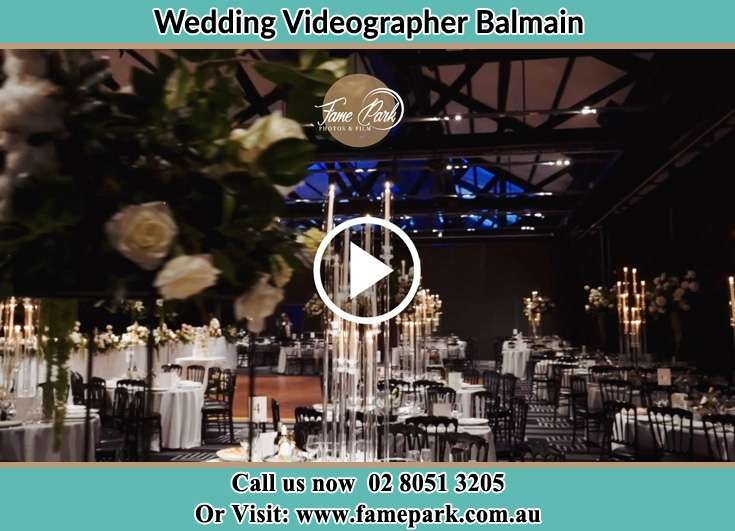 The reception Balmain NSW 2041