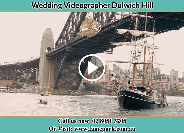 Bride and Groom boat ride Dulwich Hill NSW 2203