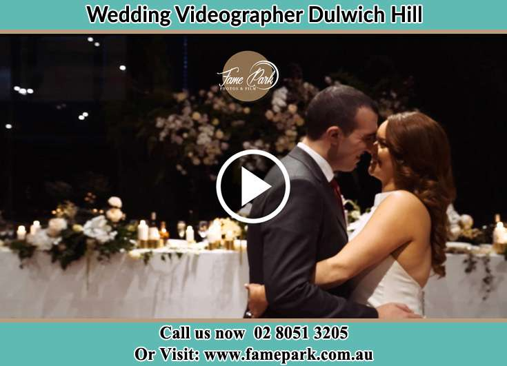Bride and Groom looking at each other at the dance floor Dulwich Hill NSW 2203