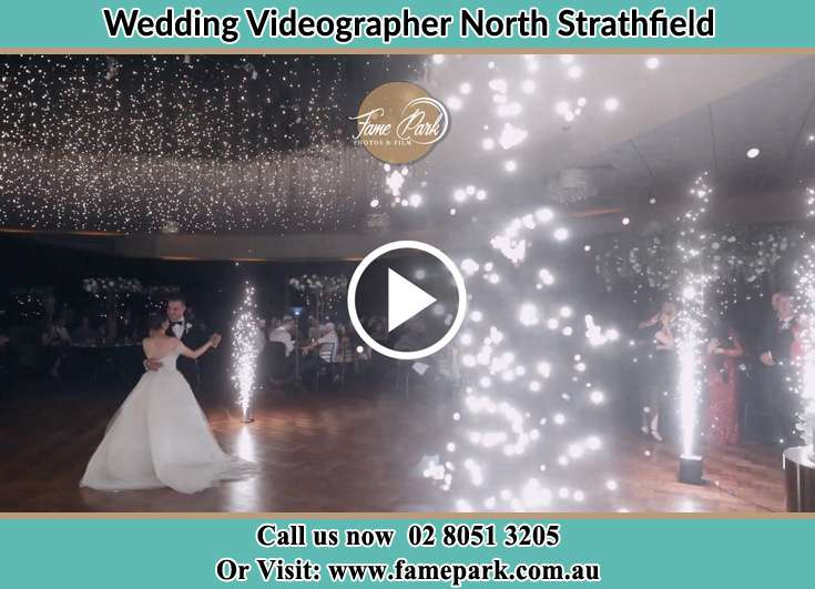 The new couple dancing on the dance floor North Strathfield NSW 2137