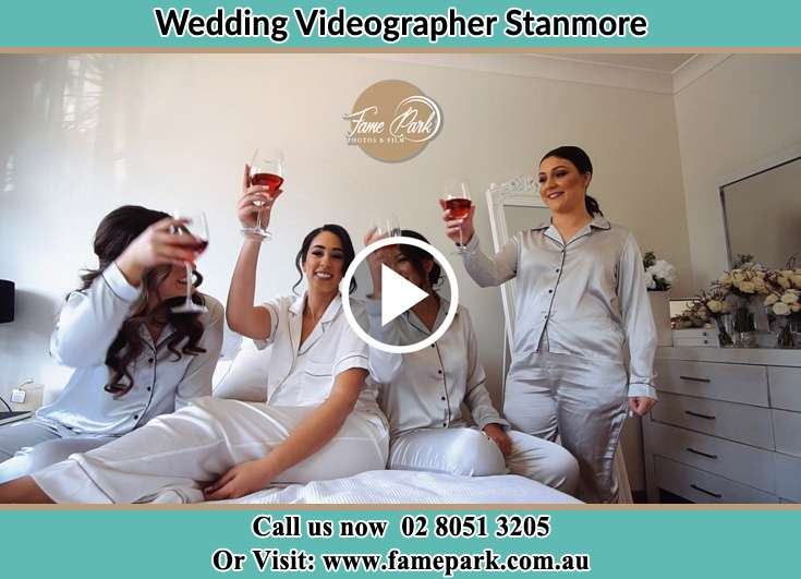 The brides and her friends having some fun time Stanmore NSW 2048