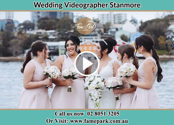 The bride and her brides maid Stanmore NSW 2048